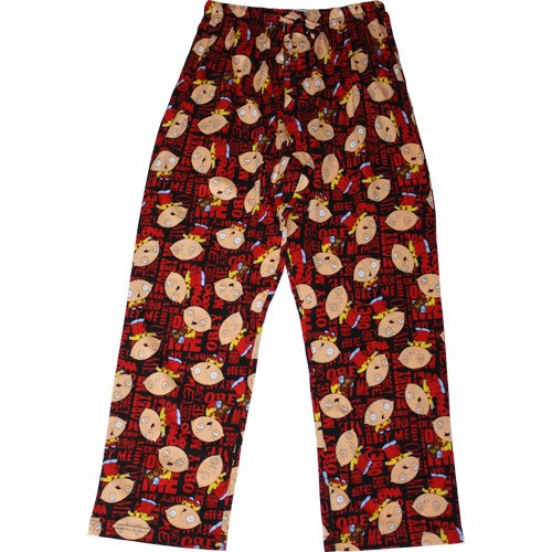 guy wearing stewie griffin pajama bottoms choice american dad stewie griffin pjs