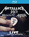 The Big 4 Metallica Slayer Megadeth Anthrax: Live from Sofia, Bulgaria [Blu-ray]