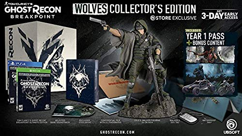 Tom Clancy's Ghost Recon Breakpoint - Wolves Collector's Edition (PS4)