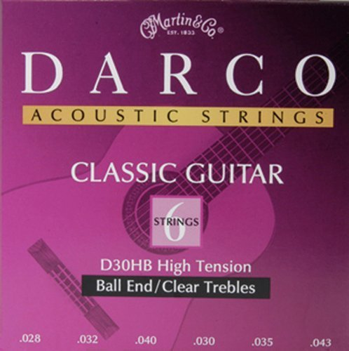 Martin D30HB Darco Silver Plated Ball End Classical