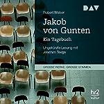 Jakob von Gunten: Ein Tagebuch