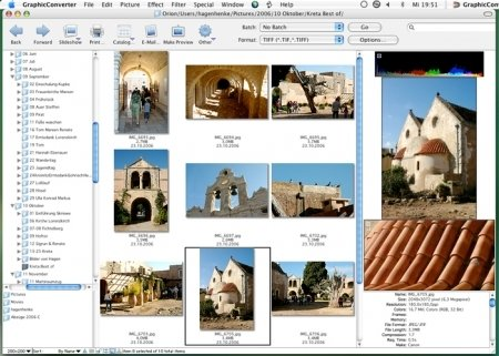 Graphic Converter software for Mac