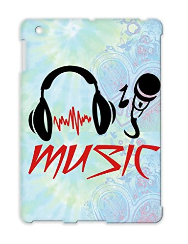 Music Micro Rampampb Metal Dance House Rock Rocknroll Sound Music Country Microphone Musik Party Jazz Headphone Classic Records Disco Fun Dj Hiphop Country Karaoke Mikrophone Pop Dancer Red Tpu For Ipad 2 Cover Case