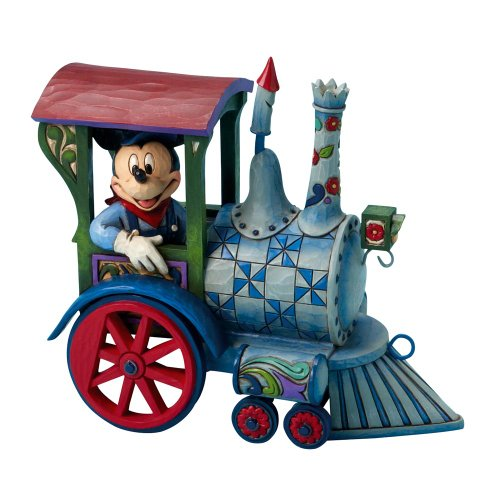 Disney Traditions Mickey Mouse All Aboard Figurine