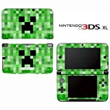 Minecraft Creeper Mob Decorative Video Game Decal Cover Skin Protector for Nintendo 3DS XL