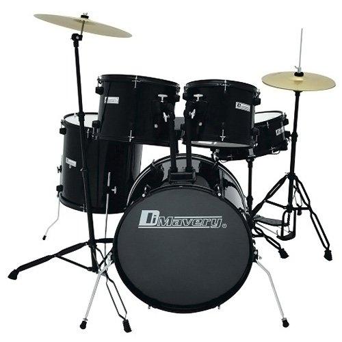 dimavery-ds-200-drum-set-black-drum-set