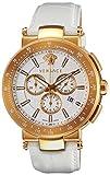 [ヴェルサーチ]VERSACE 腕時計 MYSTIQUESPORT ホワイト文字盤 クロノグラフ VFG160016 メンズ 【並行輸入品】