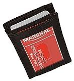 Marshal® Wallet Genuine Leather Front Pocket Wallet Card Case