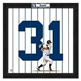 Photo File MLB ヤンキース #31 イチロー 20x20 Uniframe