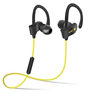 Ikevan® Wireless Bluetooth Headset Sport Stereo Headphone Earphone For iPhone (Green)