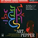 The Art of Pepper - Complete Master Takes of Omega Sessions