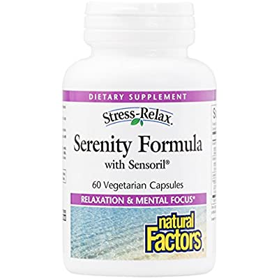 Stress-Relax Serenity Formula with Sensoril