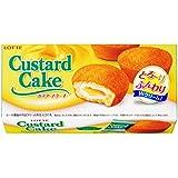 ロッテ カスタードケーキ 6個×5個