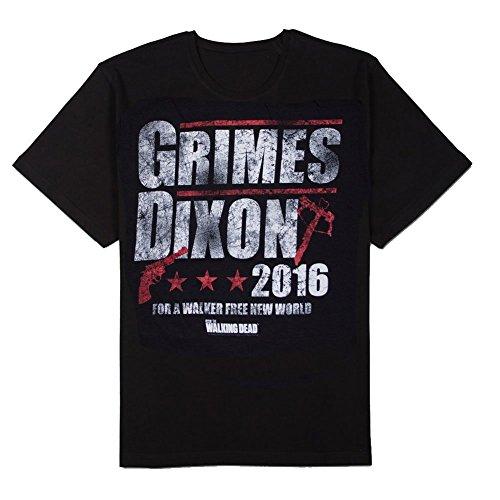 The Walking Dead Grimes Dixon 2016 Adult T-shirt