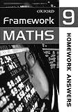 Framework Maths: Year 9: Homework Answers: Homework Answer Book Year 9
