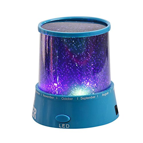 Toys-Leoy88-LED-Star-Projector-Lamp-Colourful-Night-Light-Gift-Blue