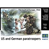 US and German paratroopers, the South of Europe, 1944 1/35 MASTER BOX 35157