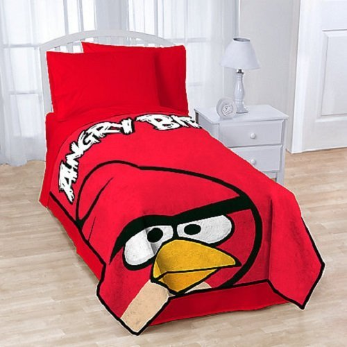 Angry Birds Blanket 60 in. X 90 in. - 1
