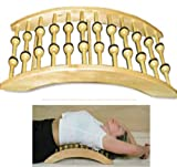 Good Ideas Deluxe Magnetic Backstretcher Shiatsu Spinal Rack Back Stretcher (1128) - Relieves back pain.