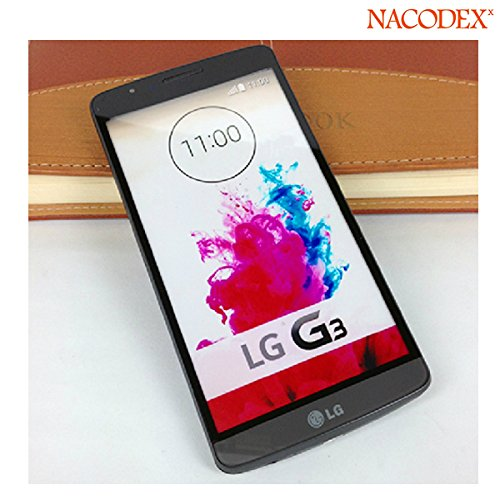 Nacodex® 1:1 Oem Size Non Working Screen Dummy Display Fake Phone Model For Lg G3 At&T Verizon T-Mobile Sprint [ Easy To Use ✔] [ Opp Bag Package✔] [ Fast & Free Shipping✔] [ W/Tracking No. ✔] 【 Retail Store 】 (Gray)