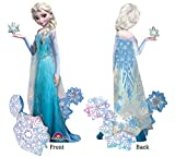 NEW! ELSA FROZEN AIRWALKER 57 Wow! Birthday party Balloons Decoration Supplies