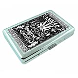 Vintage Poster Cannabis Medicine of Choice S308 Silver Cigarette Case Metal Wallet Id Holder 4