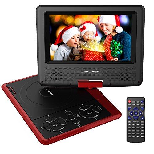 dbpower-reproductor-de-dvd-portatil-de-75-con-pantalla-giratoria-5-horas-recargable-incorporada-de-l