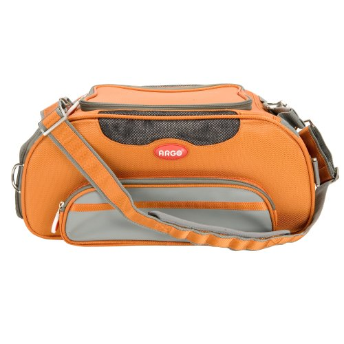 Teafco Argo Large Aero-Pet Airline-Approved Pet Carrier, Tango Orange