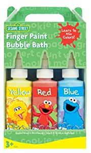 Sesame Street Finger Paint Fun Soap (Red/Yellow/Blue)