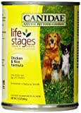 Canidae Canned Dog Food, Chicken and Rice Formula in Chicken Broth, 13-Ounce Can, 12 Count