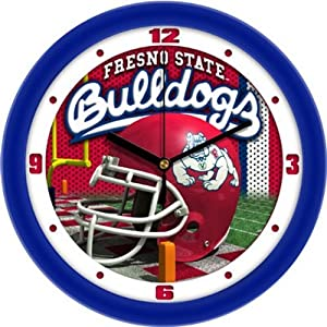 Fresno State Helmet Wall Clock by SunTime