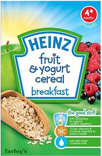 Heinz Fruit & Yogurt Cereal Breakfast 4Mth+ (125G) front-298402