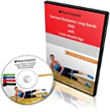 Professional DVD Workout (55 Min) for Exercise Resistance Loop Bands - Will Give You Fast, Safe, Effective Results - Perfect for Travel or Physical Therapy