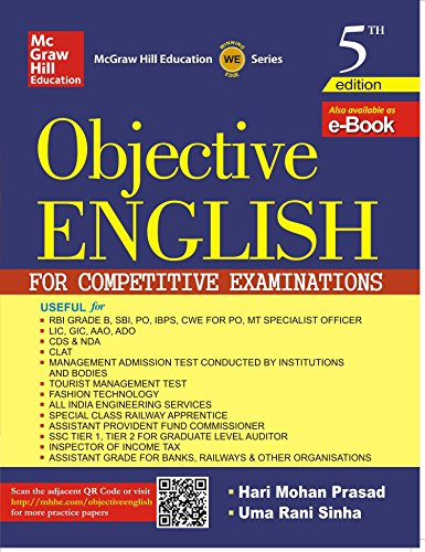 Objective English for Competitive Examination Image