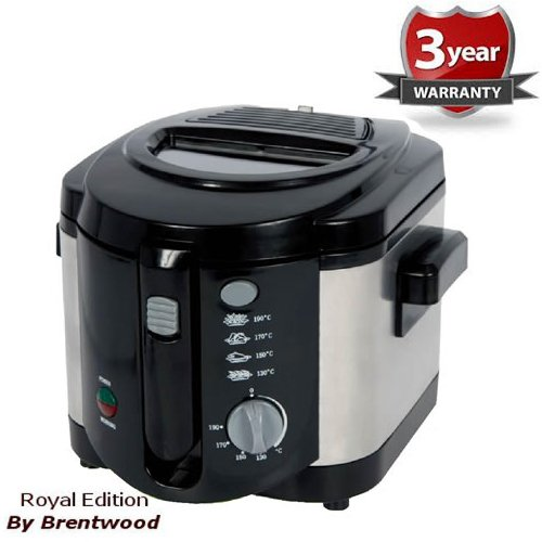 Read About Royal Deep Fryer 2.0L 1200W Cool Touch Stainless Steel