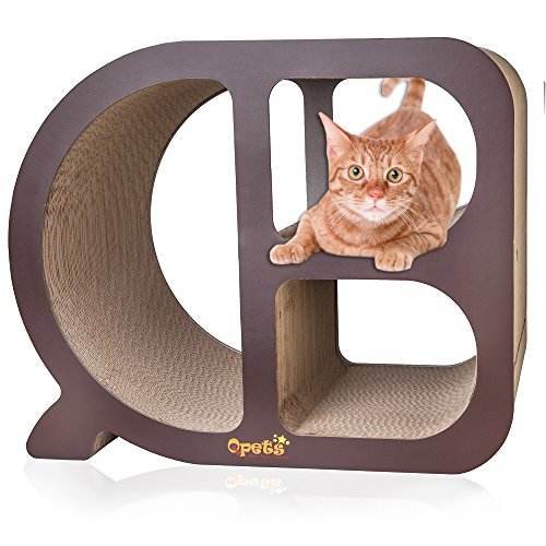QPets Cat Scratcher Toy (Cubby)