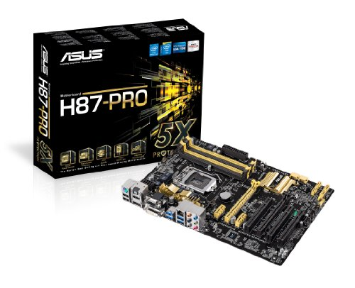 ASUSTeK Intel H87チップセット搭載マザーボード H87-PRO 【ATX】
