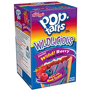 Kellogg's Pop-Tarts Frosted Wild Berry Toaster Pastries 8 ct