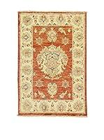Eden Carpets Alfombra Zeigler Teja/Beige 90 x 60 cm