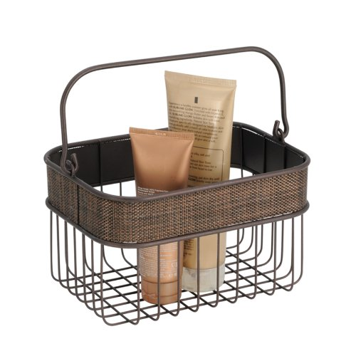 InterDesign Twillo Wire Basket, Bronze