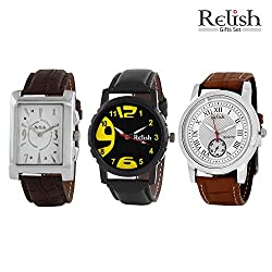 Relish Analog Watches Combo for Men - 627C
