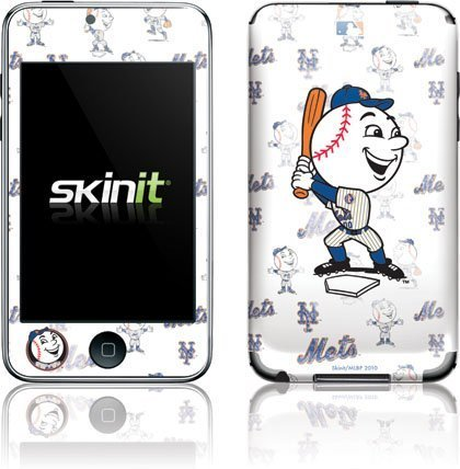 MLB - Mascots - New York Mets - Mr. Met Mascot - Repeat Distressed with Mr Met - iPod Touch (2nd & 3rd Gen) - Skinit Skin by Skinit [並行輸入品]