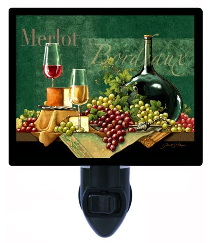 Kitchen And Bar Night Light - Bordeaux - Wine - Led Night Light