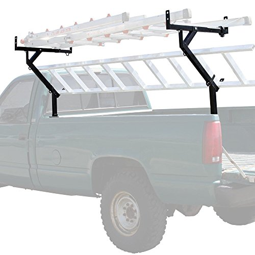 Rage Powersports TLR-3-V2 Pickup Truck Bed Ladder, Pipe, Lumber and Material Rack (Removable Truck Bed Rack compare prices)