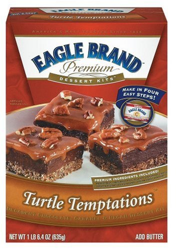 Buy Eagle Brand Premium Dessert Kits, Turtle Temptations (Pack of 6) (Eagle, Health & Personal Care, Products, Food & Snacks, Baking Supplies, Baking Mixes)