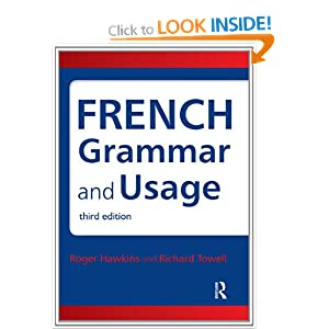 french grammar and usage hrg roger hawkins richard towell 9780340991244 books. Black Bedroom Furniture Sets. Home Design Ideas