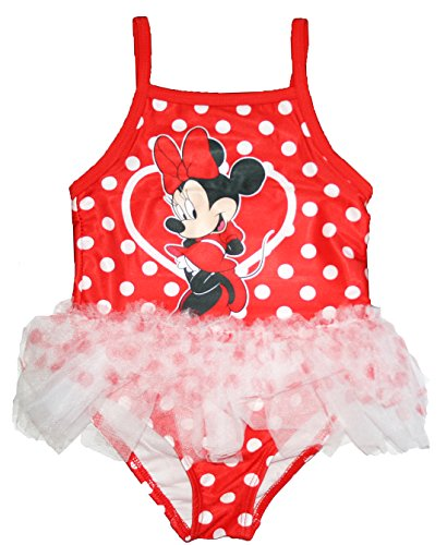 Disney Minnie Mouse Little Girls Tutu Swimsuit