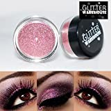 GlitterWarehouse Glitter for Eyeshadow / Eye Shadow Shimmer Makeup Powder Champagne Pink