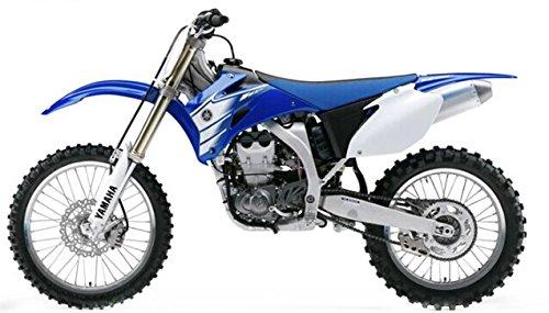 YAMAHA YZ 450F moto en alliage jouet vehicule miniature echelle 1/12 YAMAHA YZ 450F (bleu)
