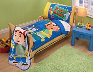 Crown Crafts Disney Handy Manny 4-Piece Toddler Set at Sears.com